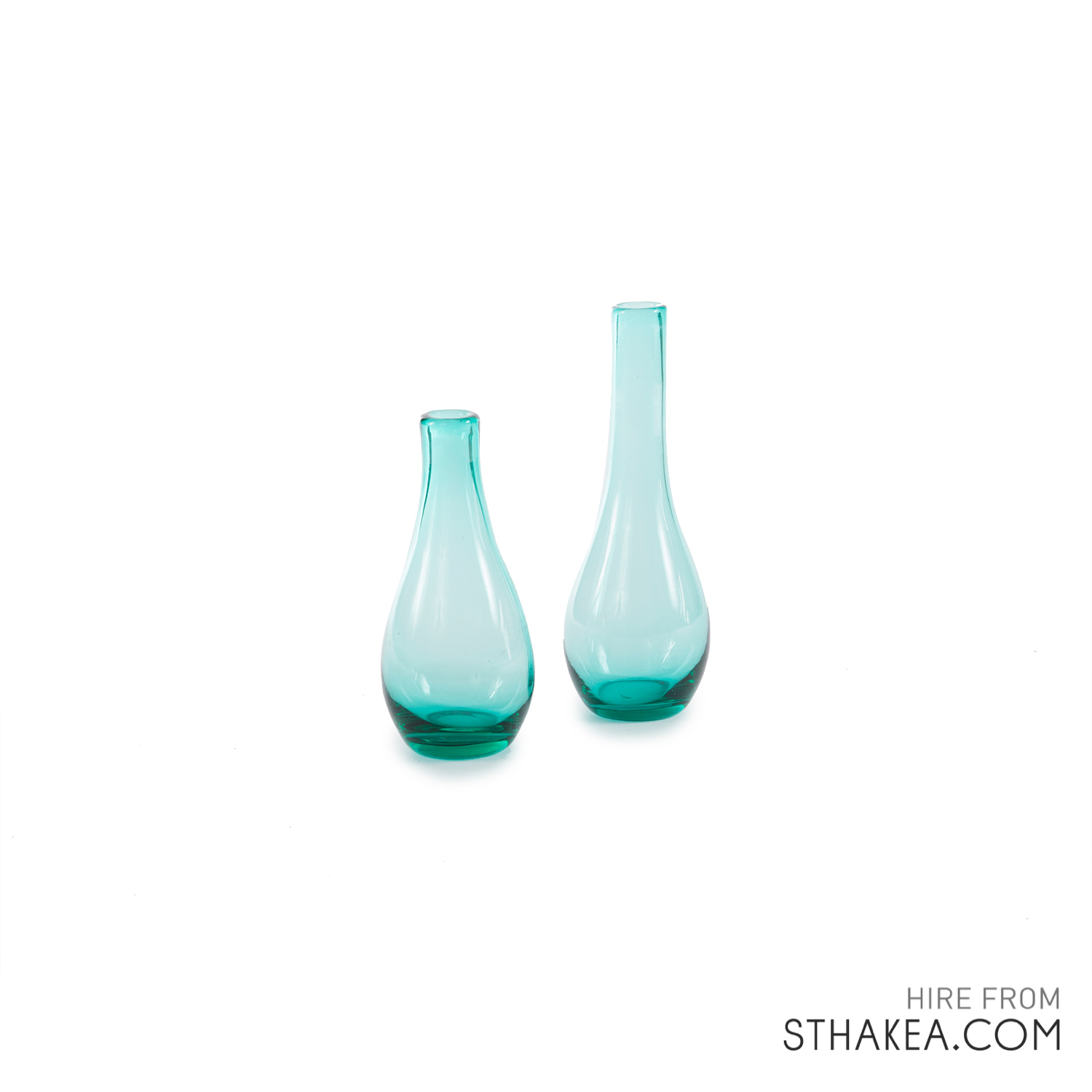 St Hakea Melbourne Hire Sea Blue Bubble Vases.jpg