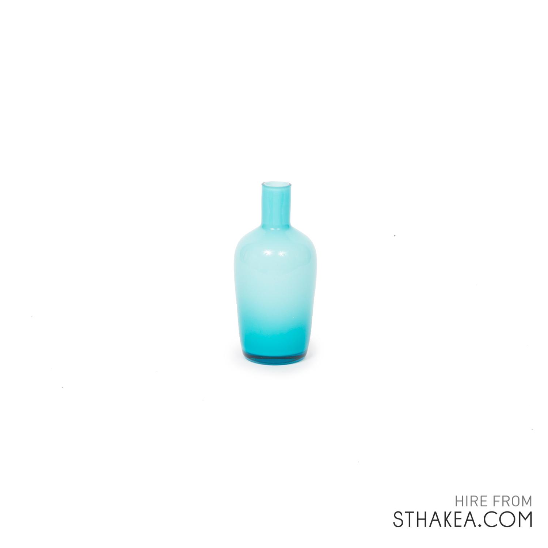 St Hakea Melbourne Hire Blue Bud Vase.jpg