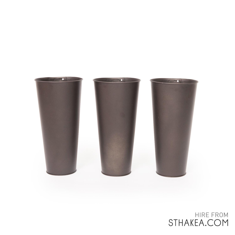 St Hakea Melbourne Hire Bark Tin Vases.jpg