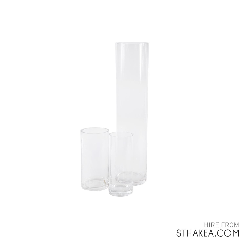 St Hakea Melbourne Hire Set Cylinder Vases.jpg