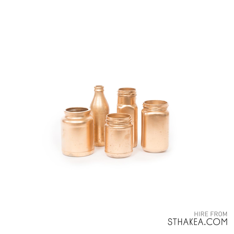St Hakea Melbourne Hire Copper jars.jpg