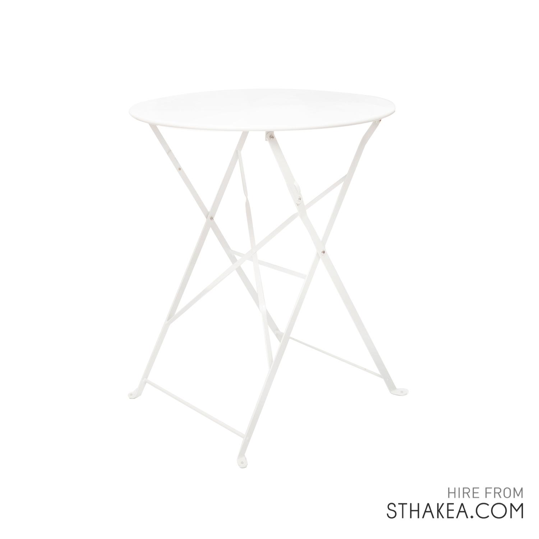 St Hakea Melbourne Event Hire White Bistro table.jpg