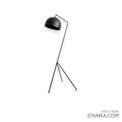 St Hakea Melbourne Event Hire Modern Black Floorlamp.jpg