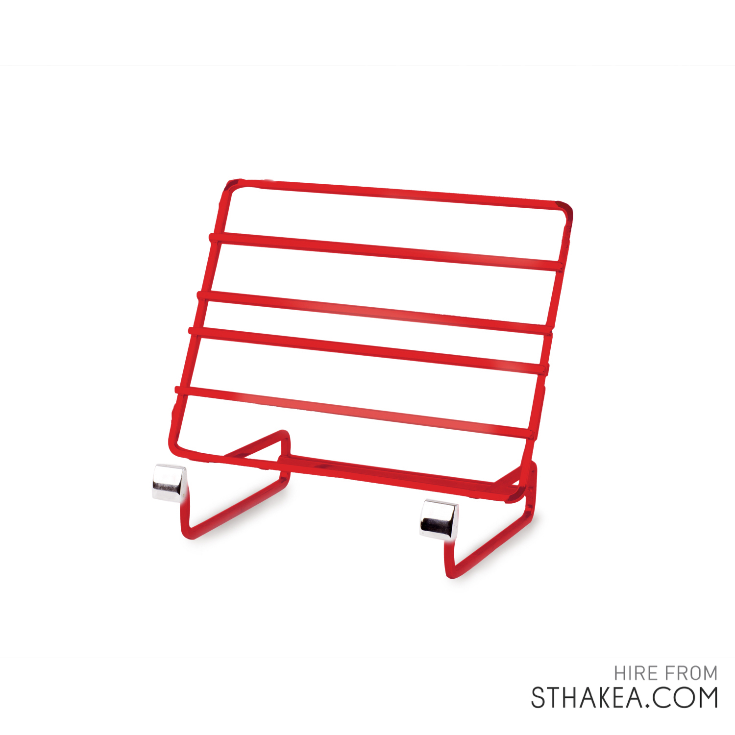 St Hakea Melbourne Event Hire Display Stand Red.jpg