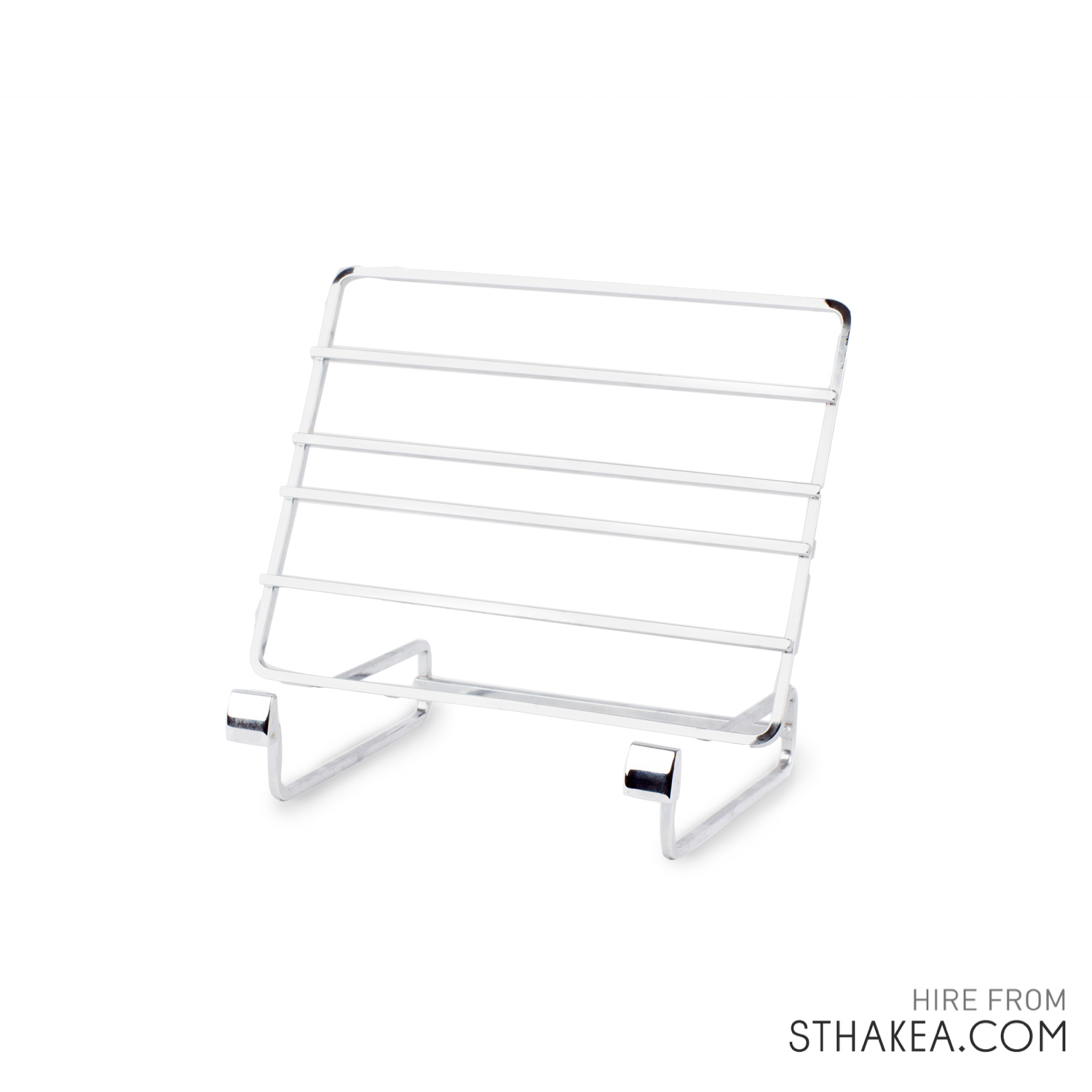 St Hakea Melbourne Event Hire Silver Display Stand.jpg