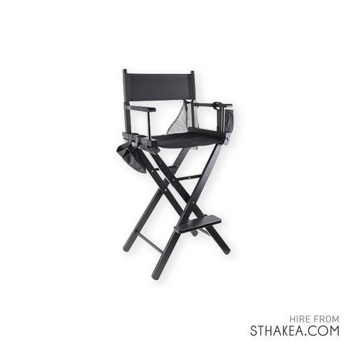 St Hakea Melbourne Event Hire Black Directors Chair.jpg