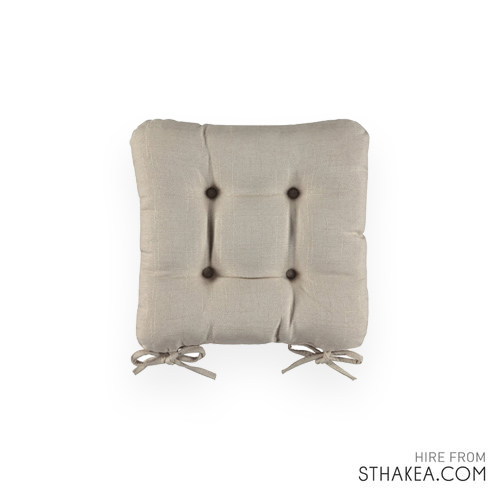 St Hakea Melbourne Event Hire Natural Seat Pad.jpg