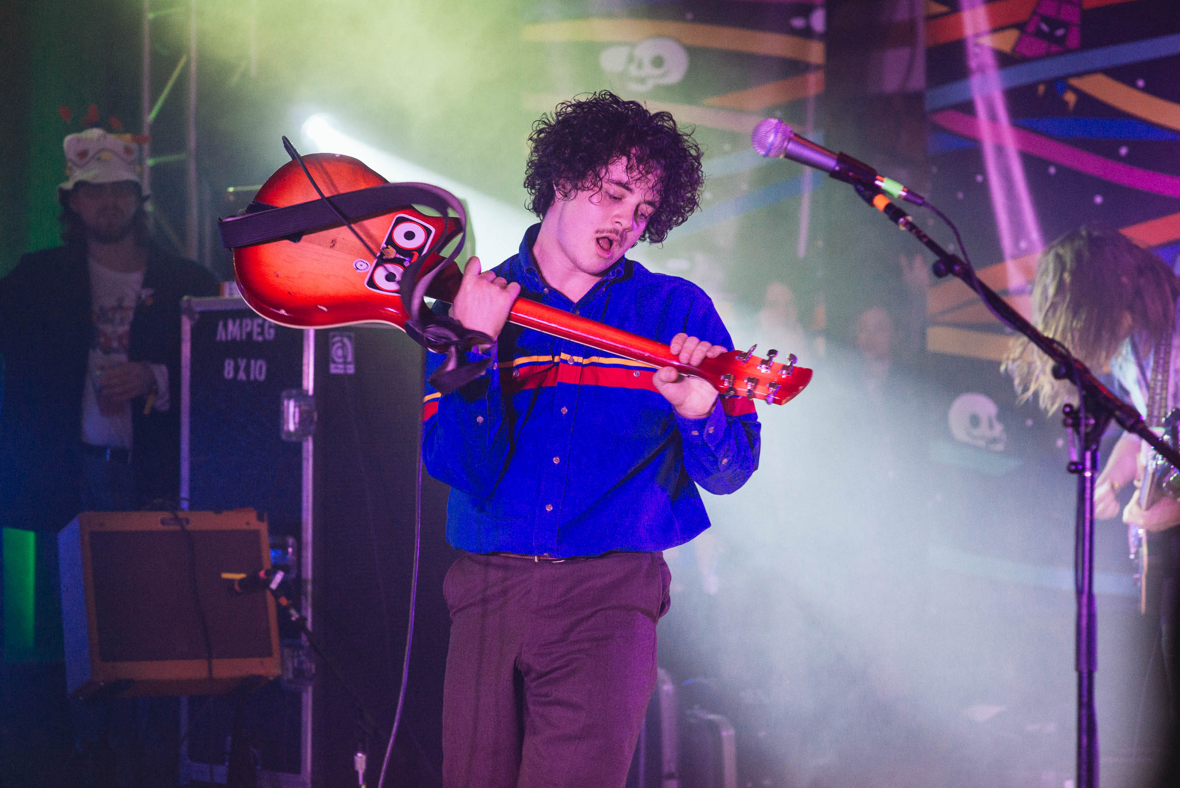 The Districts perform at El Korah Shrine during Treefort Music Fest on Thursday March 22, 2018.