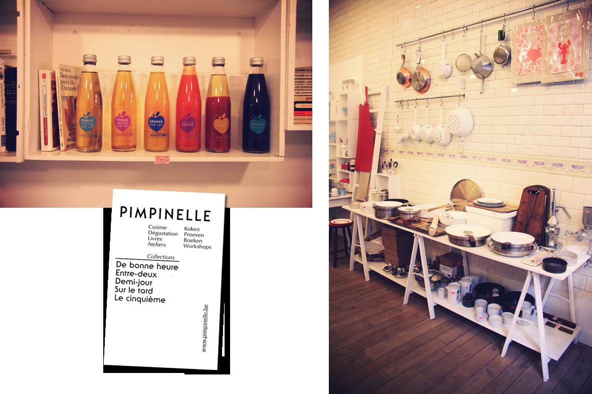 Pimpinelle Store, à Bruxelles - TravelGuide - www.theflyingflour.com