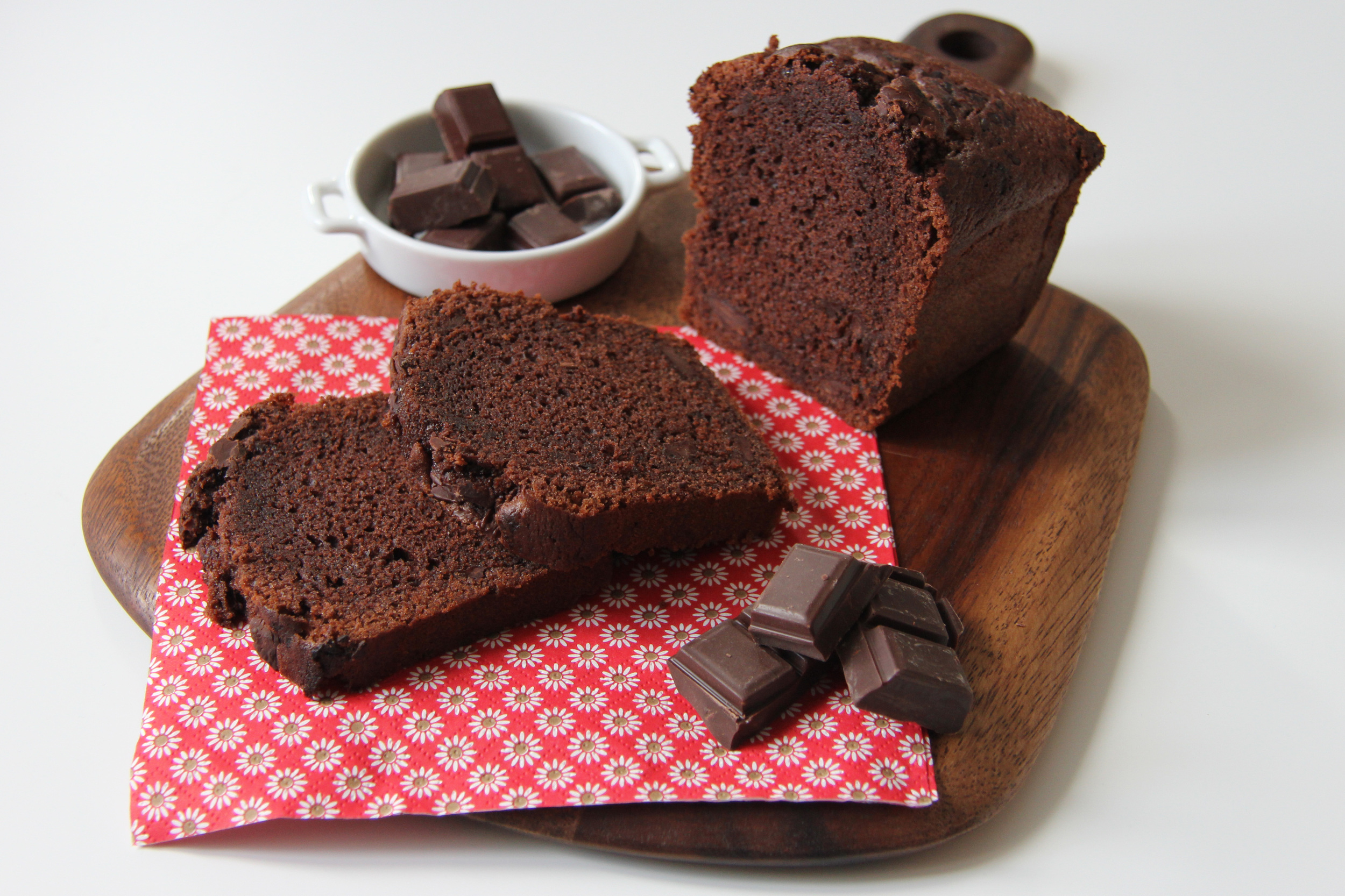 Cake aux pépites de chocolat // The Flying Flour