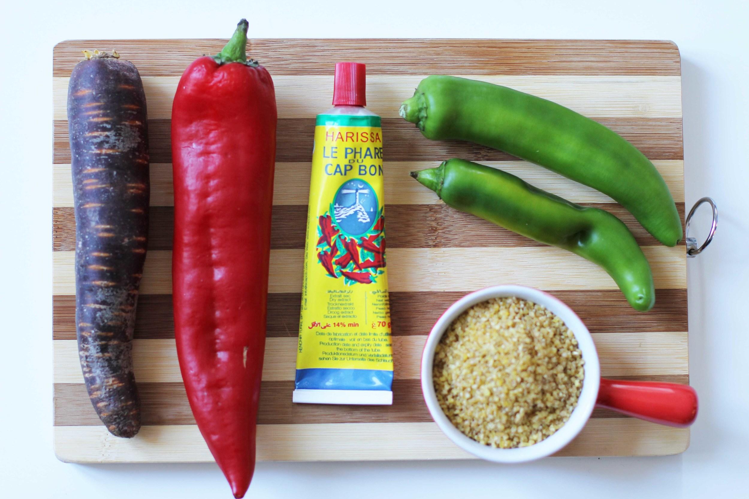 Boulgour légumes et pruneaux - The Flying Flour