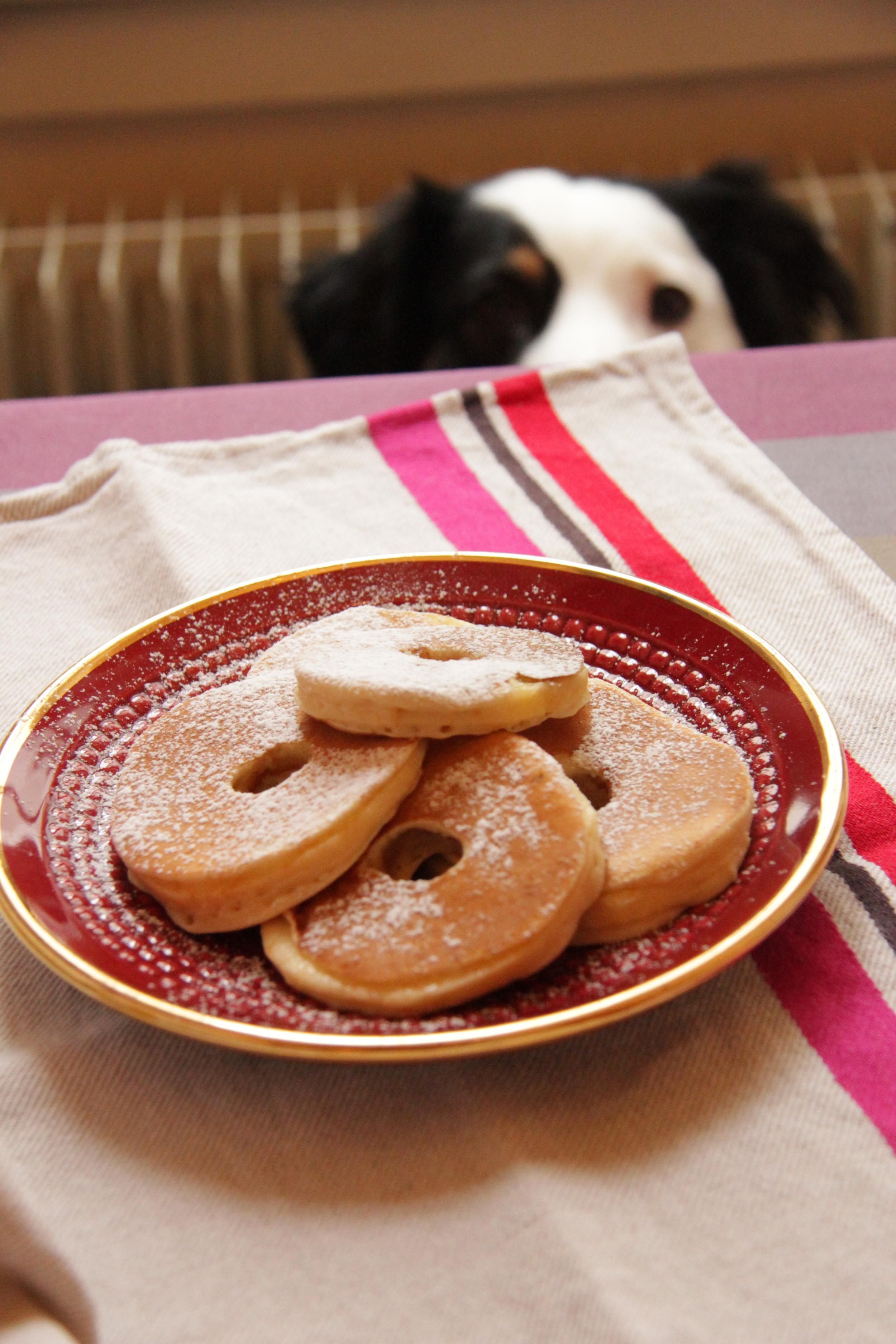 Pancakes aux rondelles de pommes - The Flying Flour