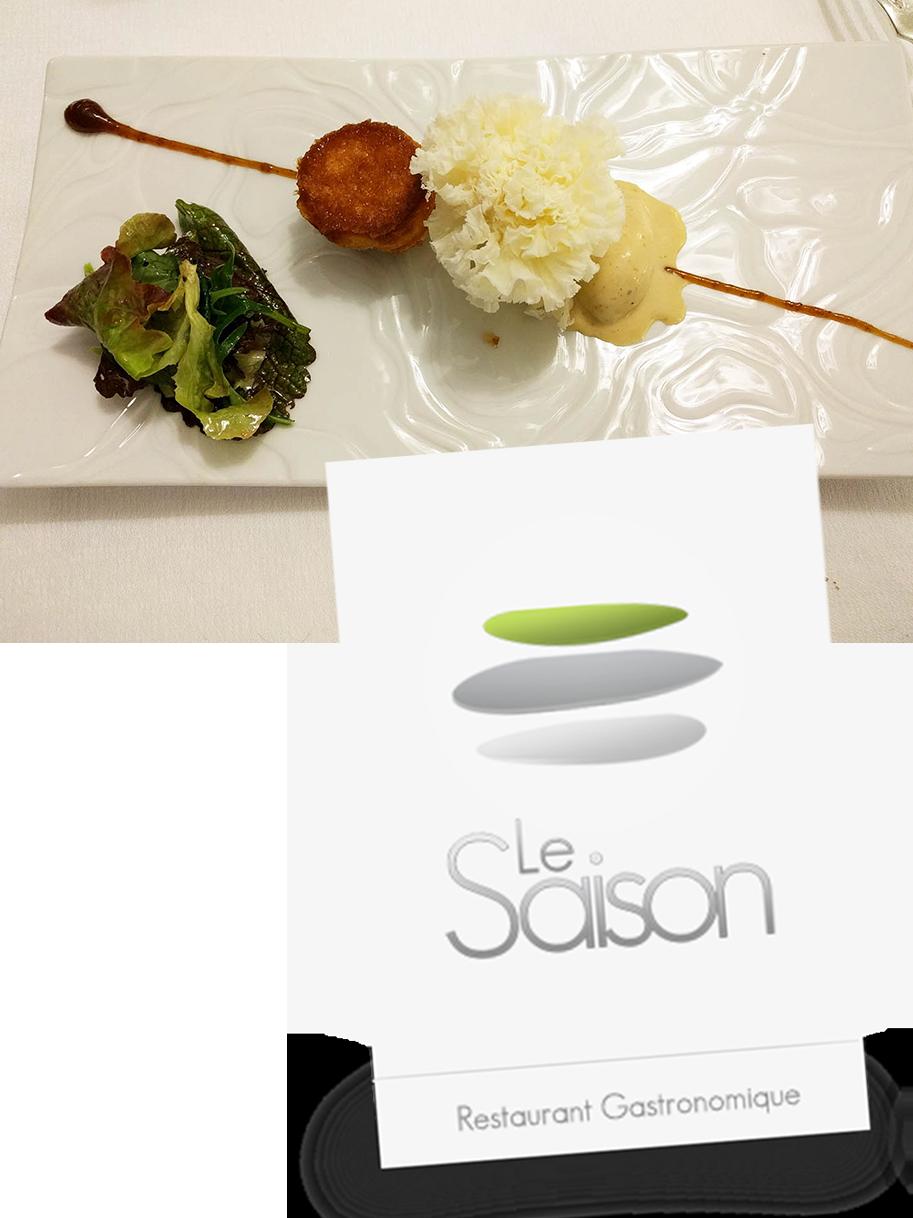 Le Saison, restaurant gastronomique breton