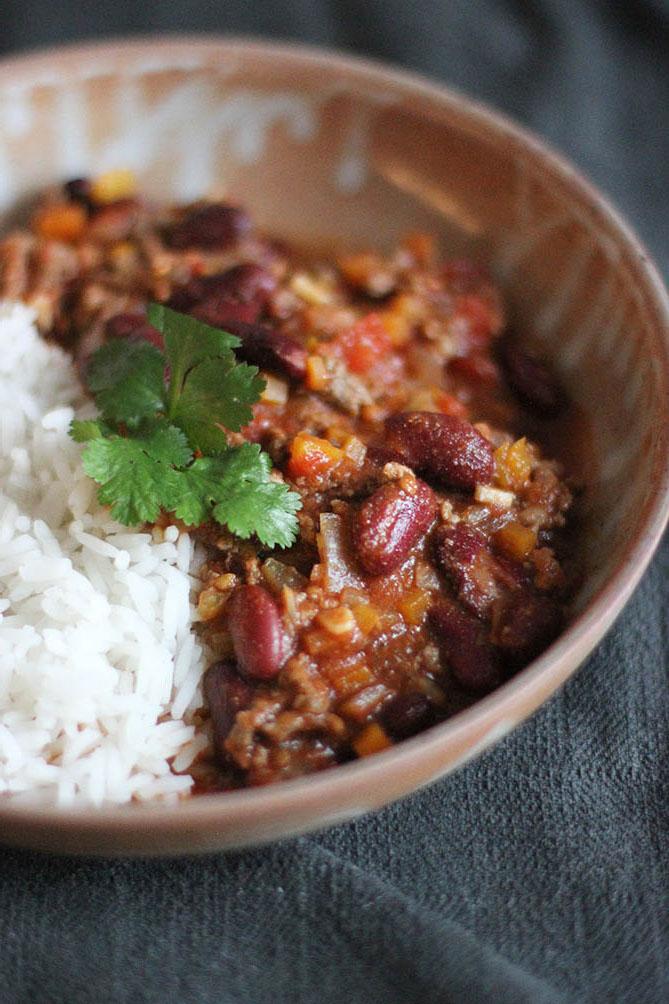Chili Con Carne | www.theflyingflour.com