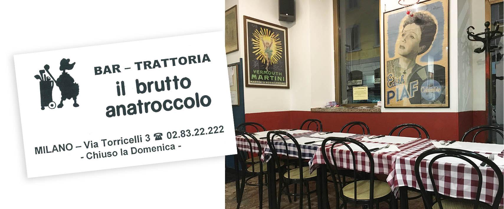 Il Brutto Anatrocollo, Milan | www.theflyingflour.com