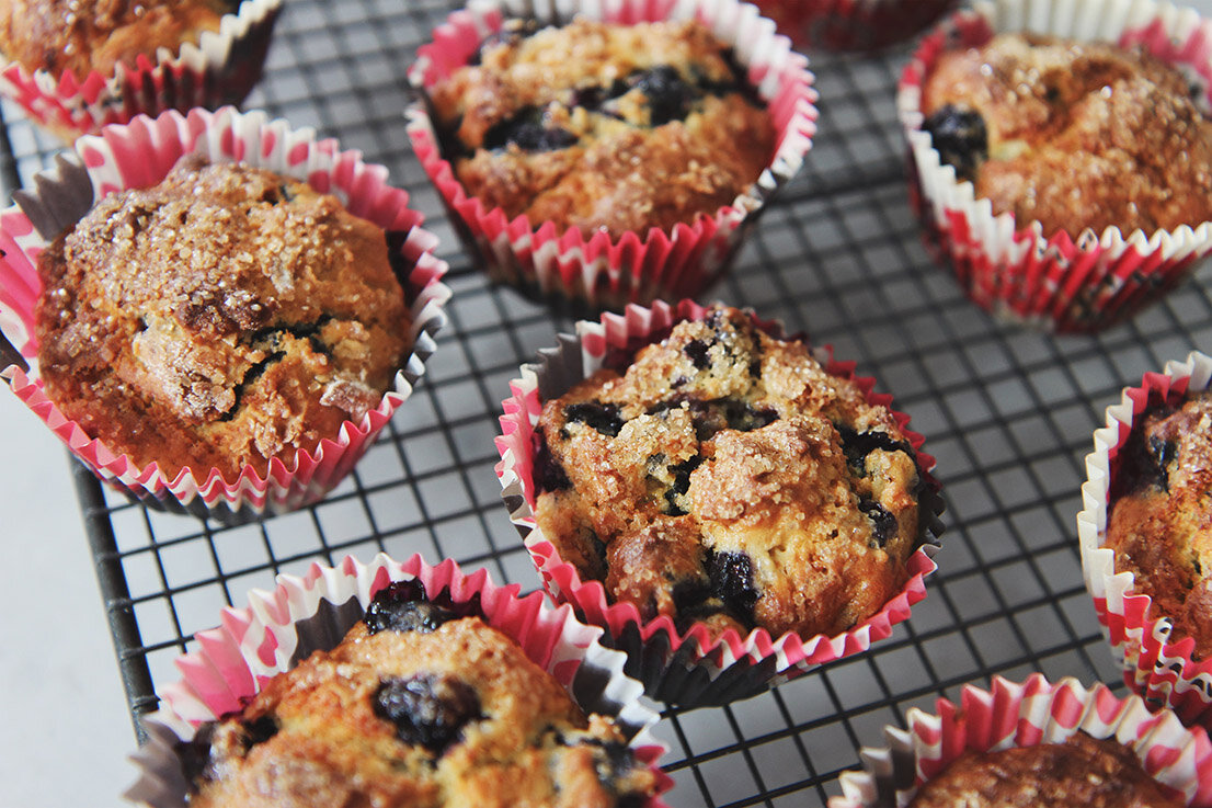 Muffins myrtilles © The Flying Flour