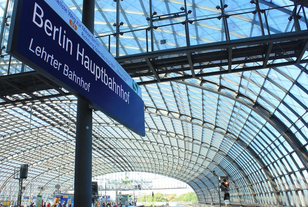 Train station in Berlin, Germany I Photo credit: Rose Spaziani