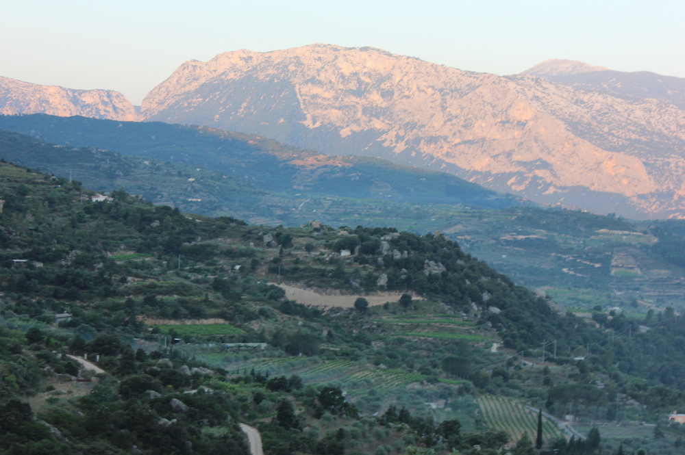 View from Agriturismo Rifugio Gorropu in Sardinia | Photo credit: Rose Spaziani
