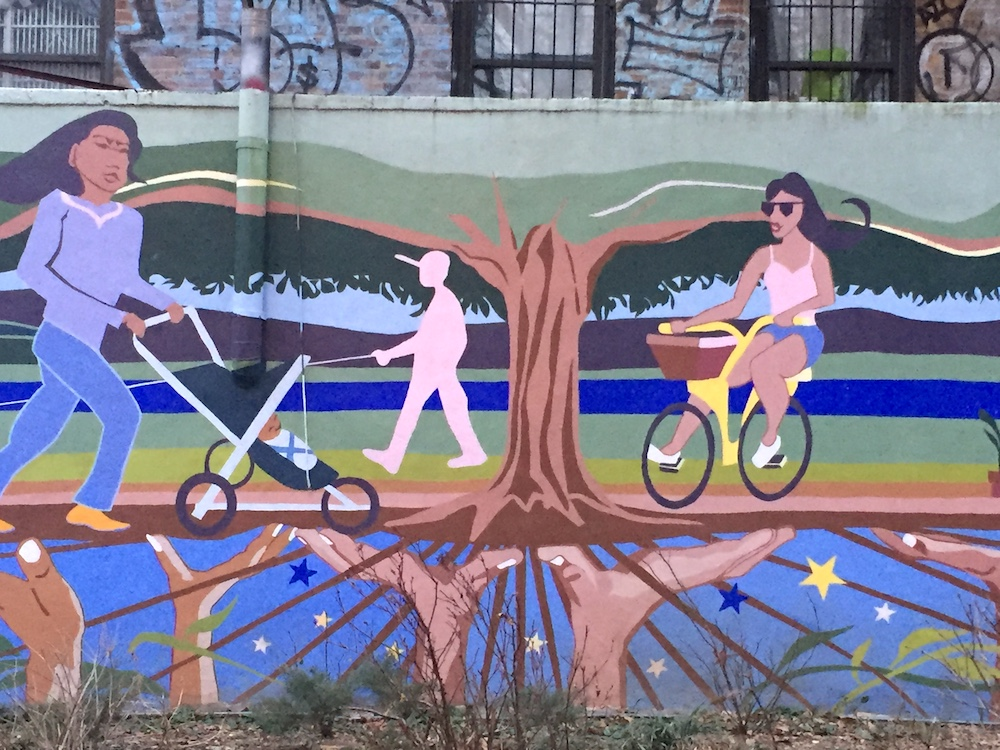 Mural in Inwood, NYC | Photo credit: Rose Spaziani