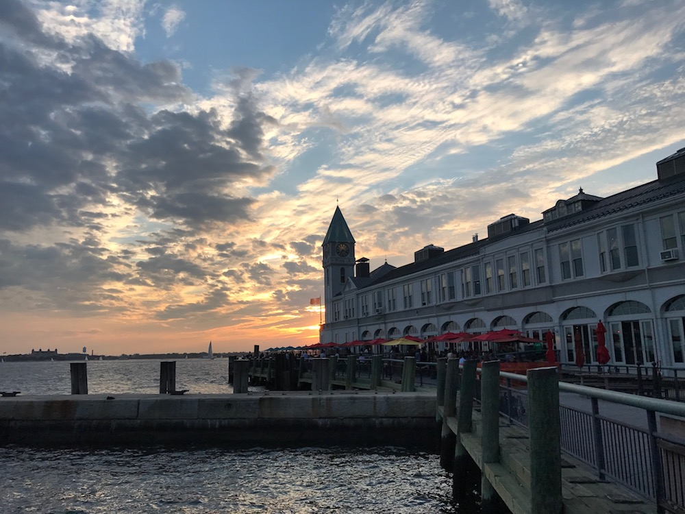 New York Harbor in Lower Manhattan | Photo credit: Rose Spaziani