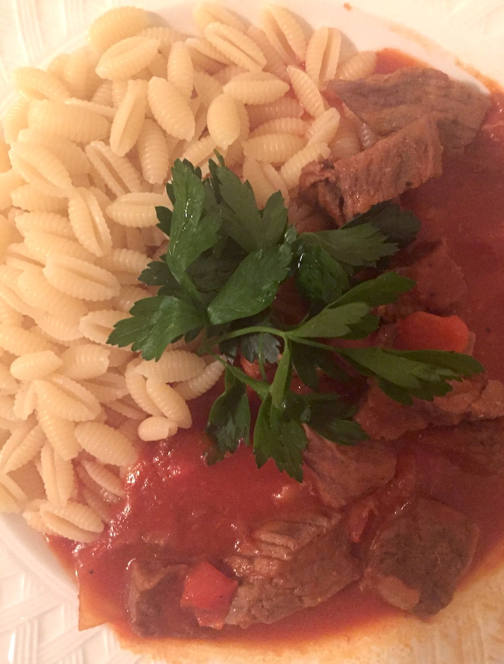 Czech-Italian Goulash | Photo credit: Rose Spaziani