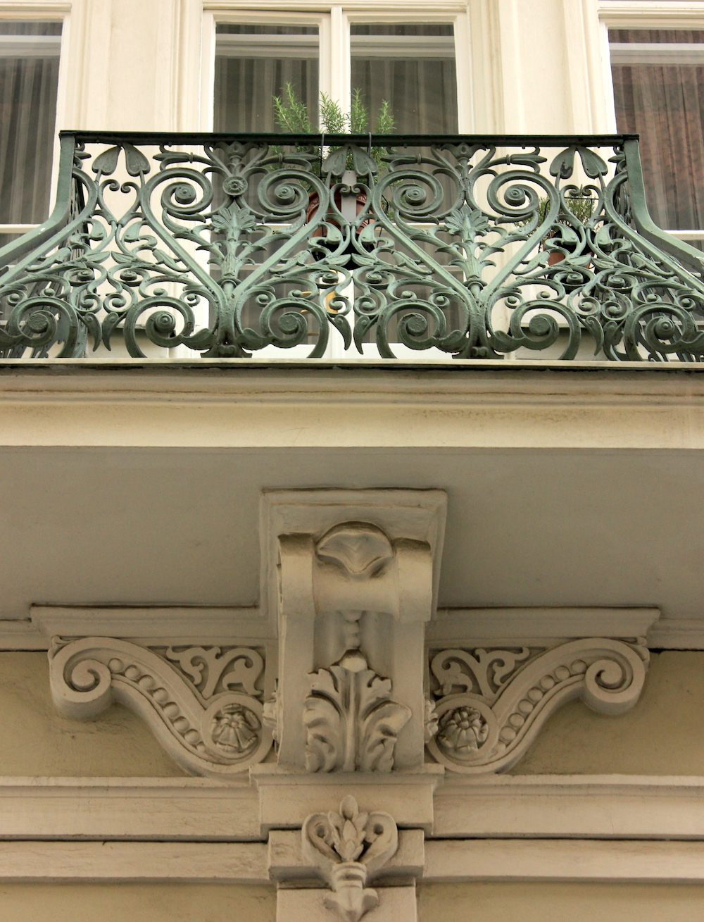 Architectural detail in Prague | Photo credit: Rose Spaziani