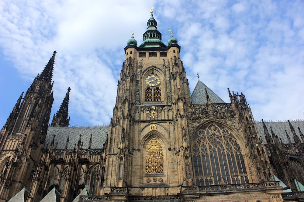 St.Vitus Cathedral in Prague   Photo credit: Rose Spaziani