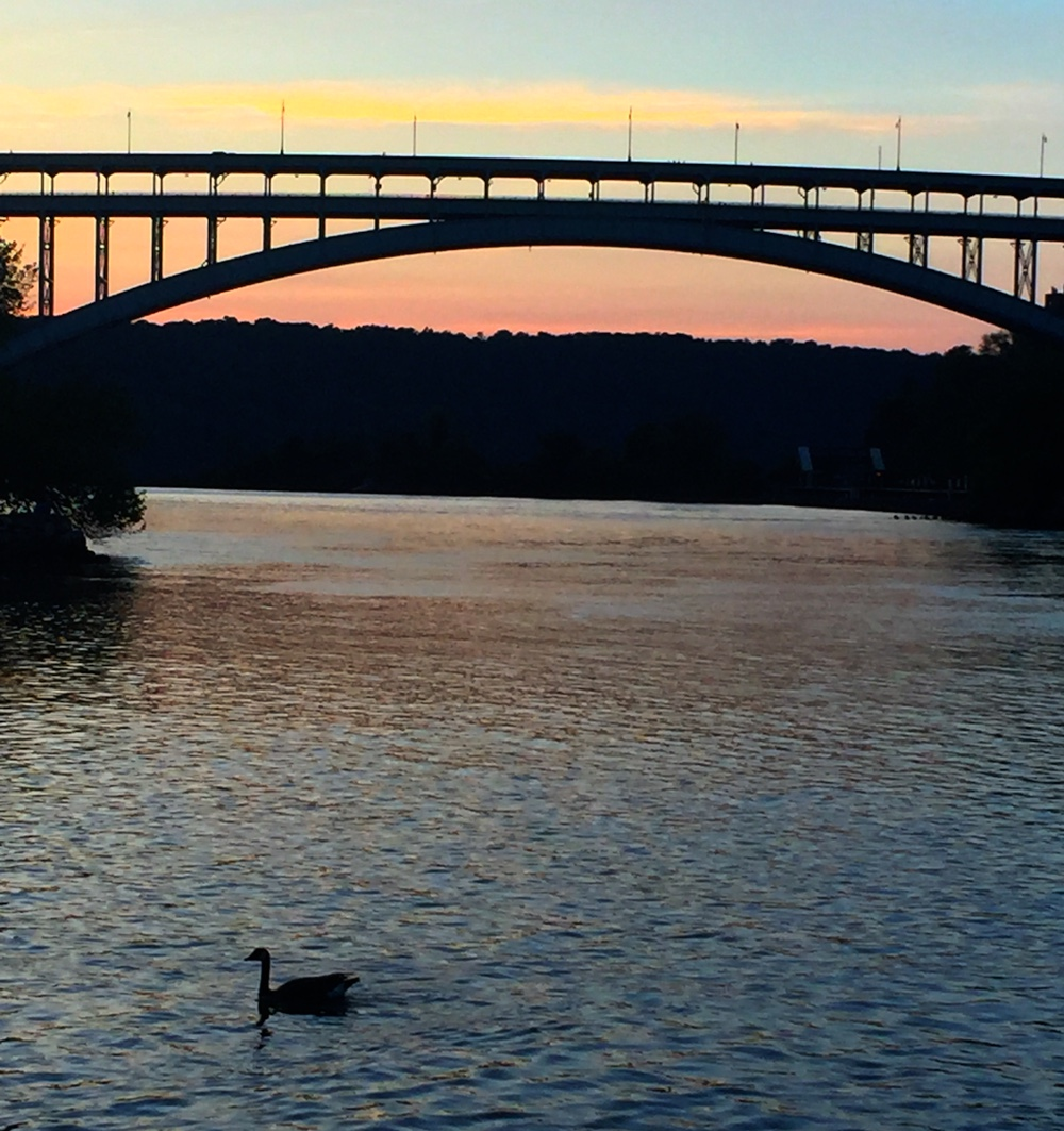 Sunset in Inwood, NYC | Photo credit: Rose Spaziani
