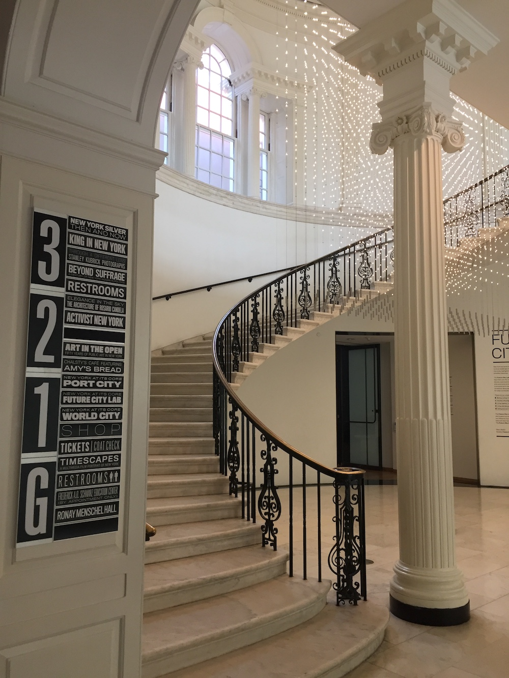 Interior of Museum of the City of New York | Photo credit: Rose Spaziani