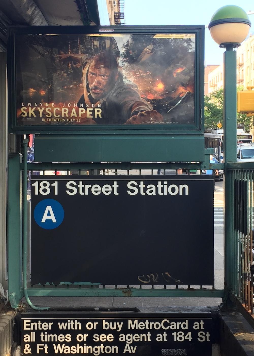 181 Street Station, NYC | Photo credit: Rose Spaziani