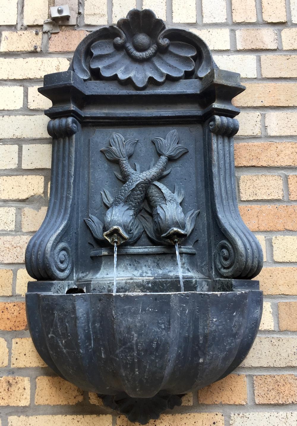 Mermaids fountain on Cabrini Boulevard, NYC | Photo credit: Rose Spaziani