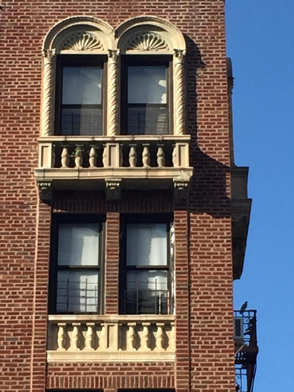 Architecture on Cabrini Boulevard, NYC | Photo credit: Rose Spaziani