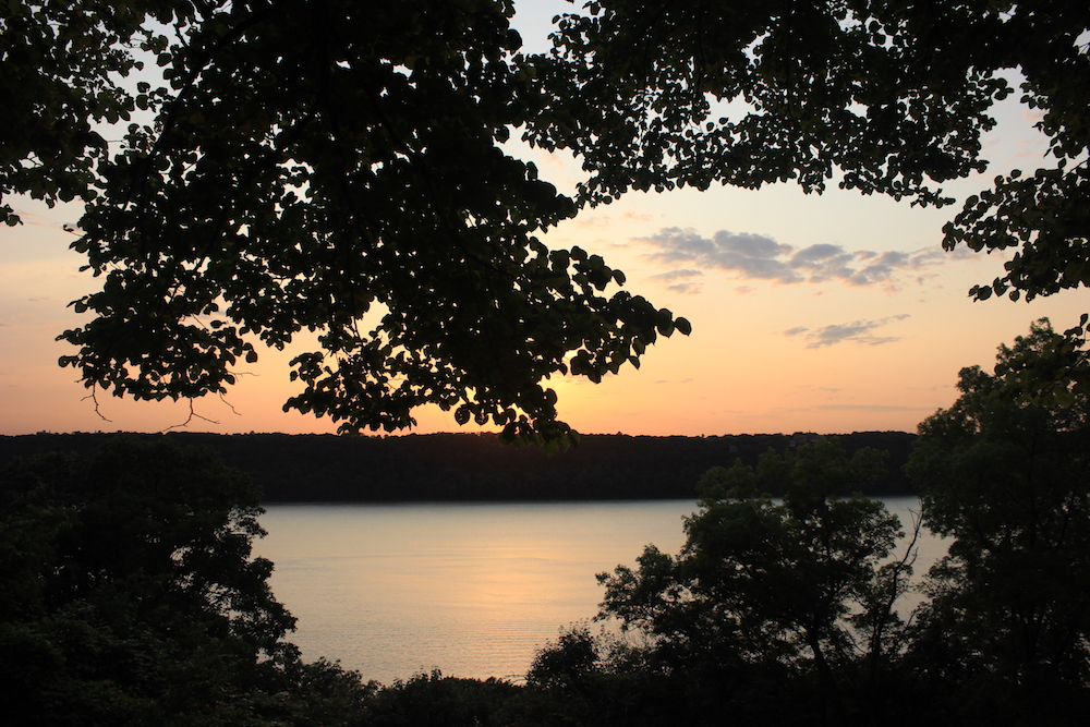 Sunset in Fort Tryon Park, NYC | Photo credit: Rose Spaziani