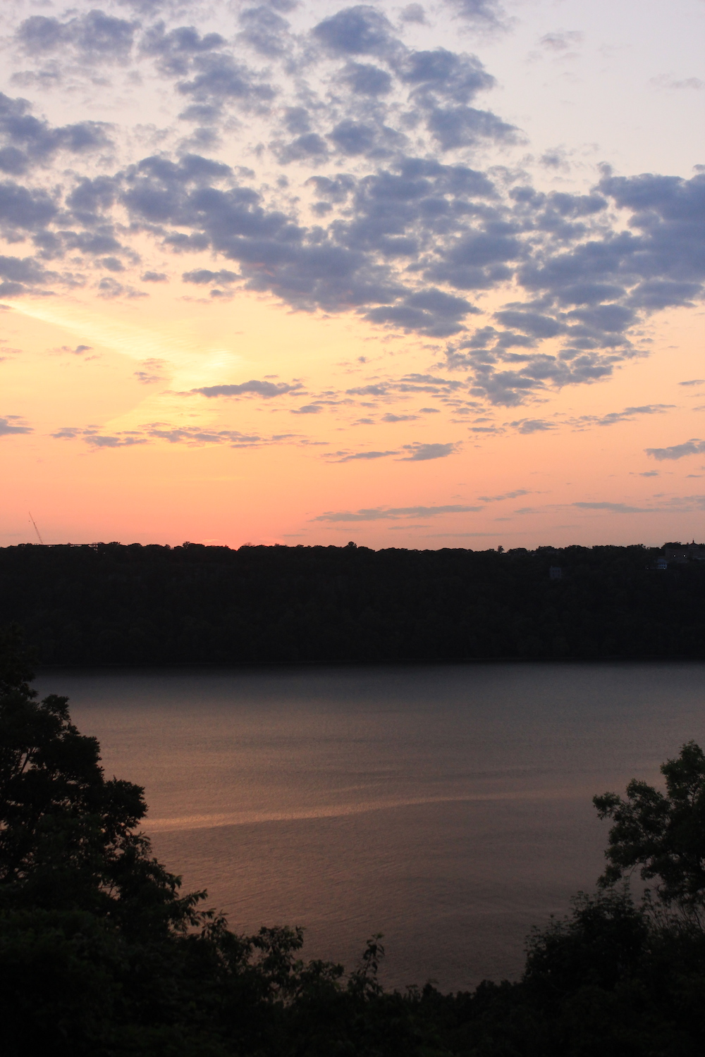 Sunset from Linden Terrace in Fort Tryon Park, NYC | Photo credit: Rose Spaziani