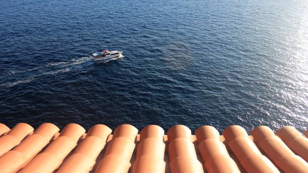 Adriatic Sea as viewed from Dubrovnik's city walls   Photo credit: Rose Spaziani