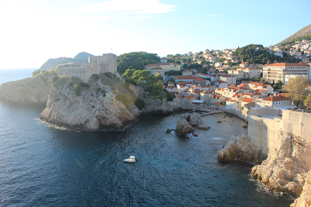 View from the city walls in Dubrovnik, Croatia | Photo credit: Rose Spaziani