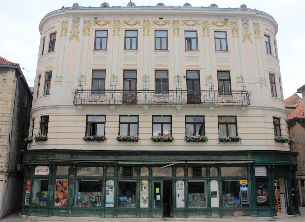 Bookstore in Split, Croatia | Photo credit: Rose Spaziani