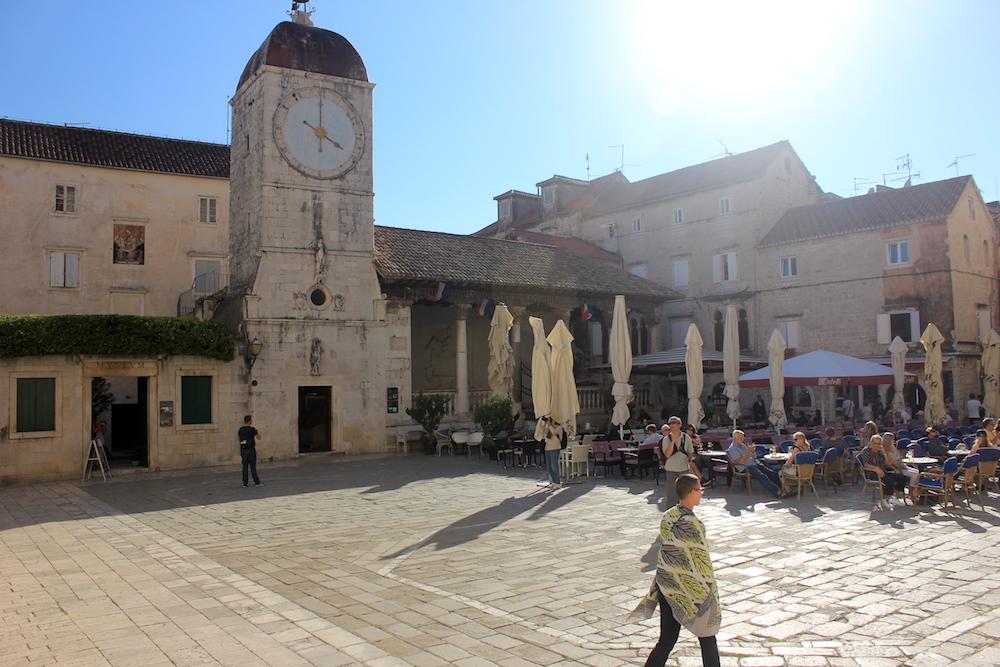 Italian-style piazza in Trogir, Croatia | Photo credit: Rose Spaziani