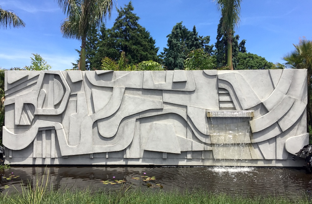 A landscape inspired by Roberto Burle Marx at New York Botanical Garden | Photo credit: Rose Spaziani