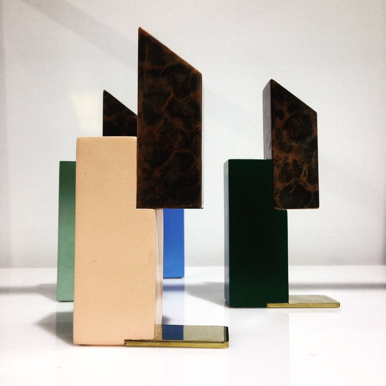 Sculpture architectural objects