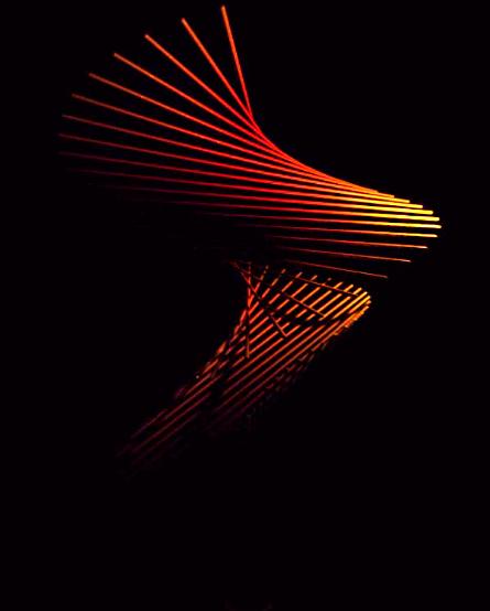 Franck Tawema_Lightbrush_Orange