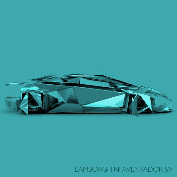 Lanborghini Aventador SV