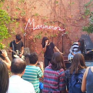 MUSIC  - Listen to Chile's new hip band Marineros (meaning Sailors) . This is new for me too.