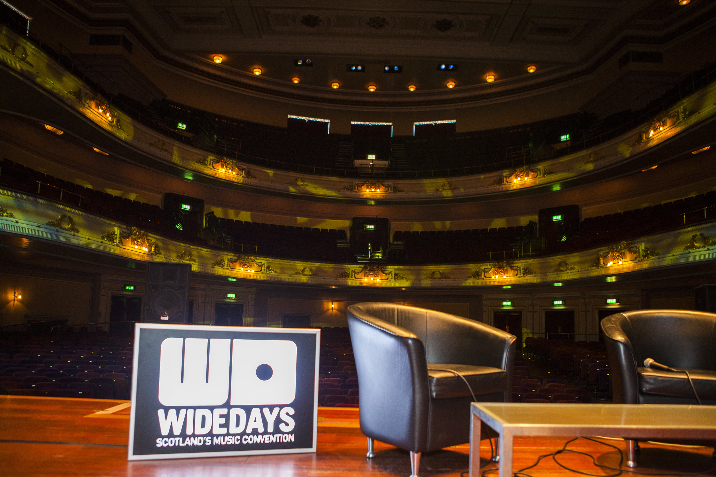 Networking day at The Usher Hall JPG