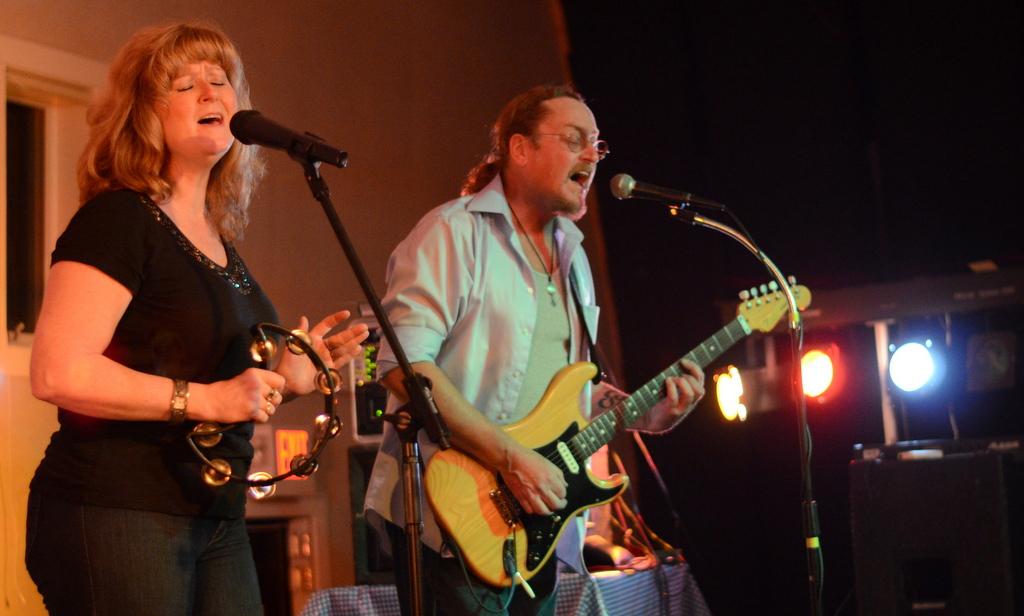 Kristi Buchanan and Bill Tapley