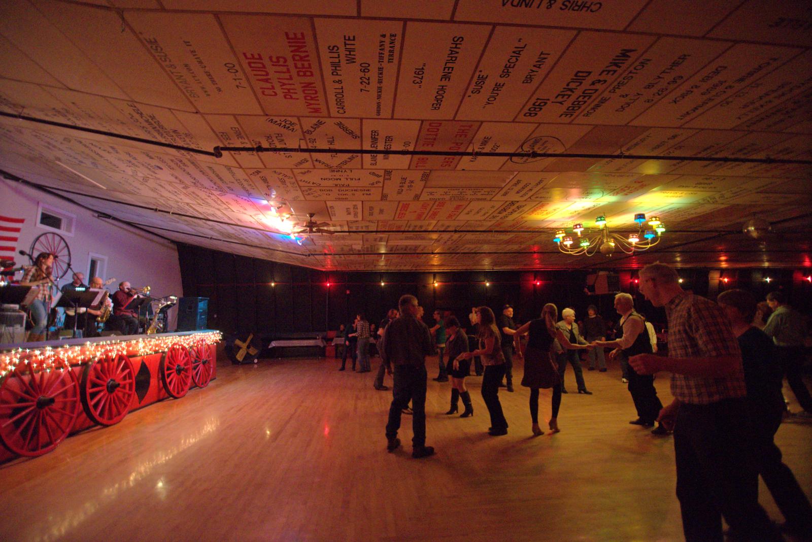 Dancing to Jump City Social Club