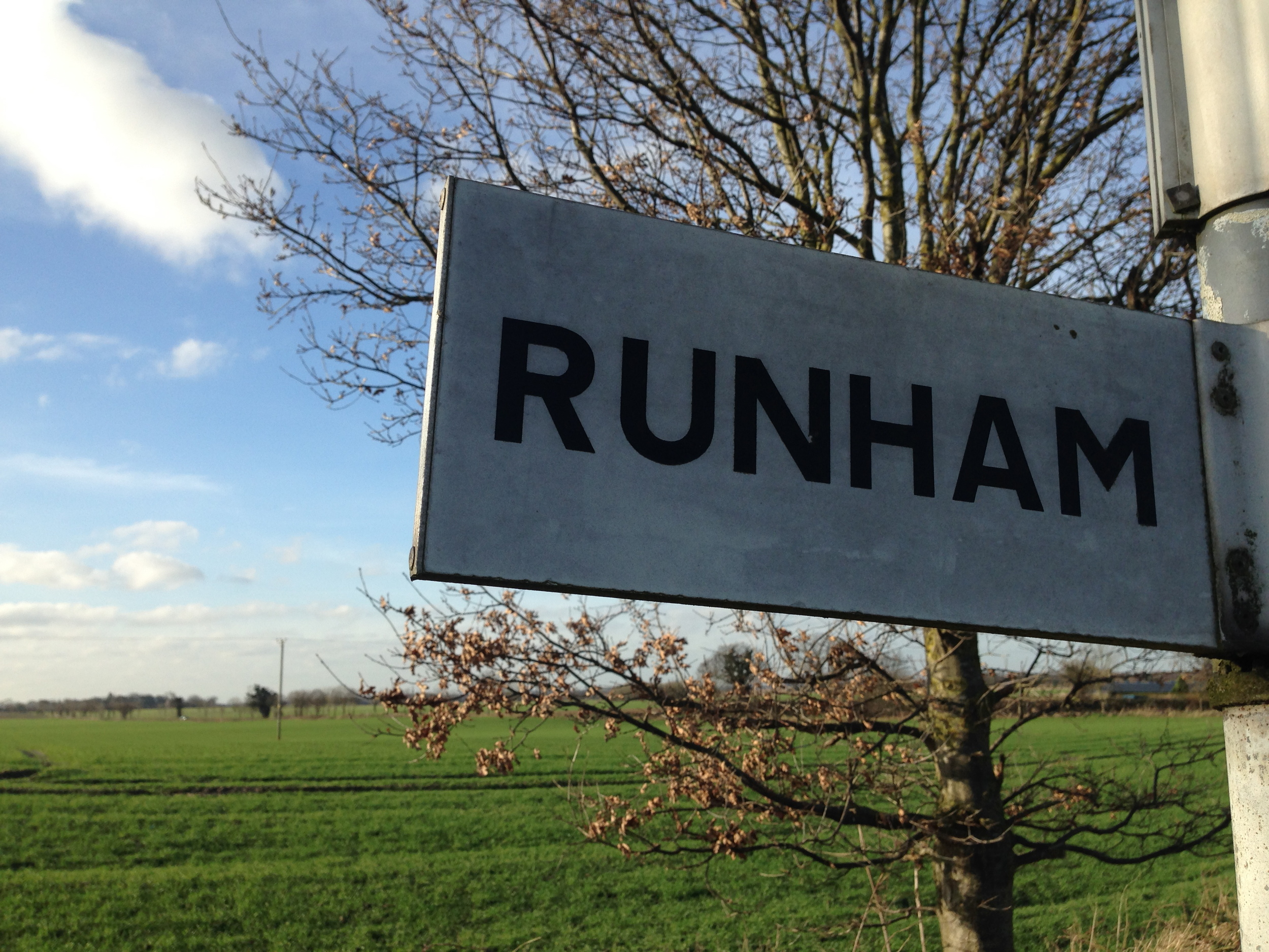 Runham sign