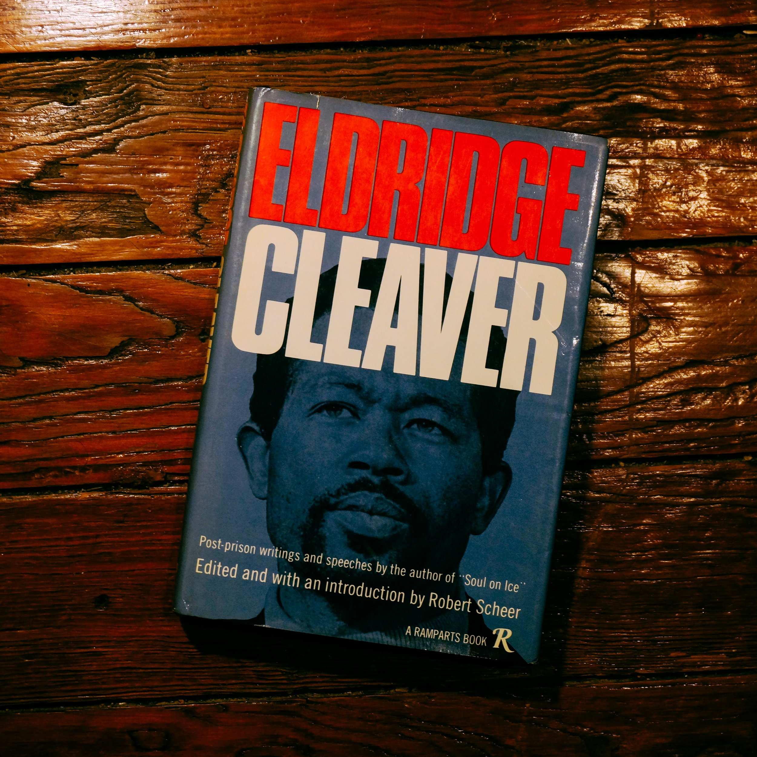 """Eldridge Cleaver quotes from the dust jacket flap:   """"I don't know how to go about waiting until people start practicing what they preach. I don't know how to go about waiting on that. Because all I see is a very critical situation, a chaotic situation, where there's pain, there's suffering, there's death, and I see no justification for waiting until tomorrow to say what you would say tonight. I see no justification for not moving even if i have to move by myself . . .""""   """"The first thing that has to be realized is that it is a reality when people say that there's a 'black colony' and a 'white mother country.' Only if this distinction is borne clearly in mind is it possible to understand that there are two different sets of dynamics now functioning in America.""""   Get it    Here"""