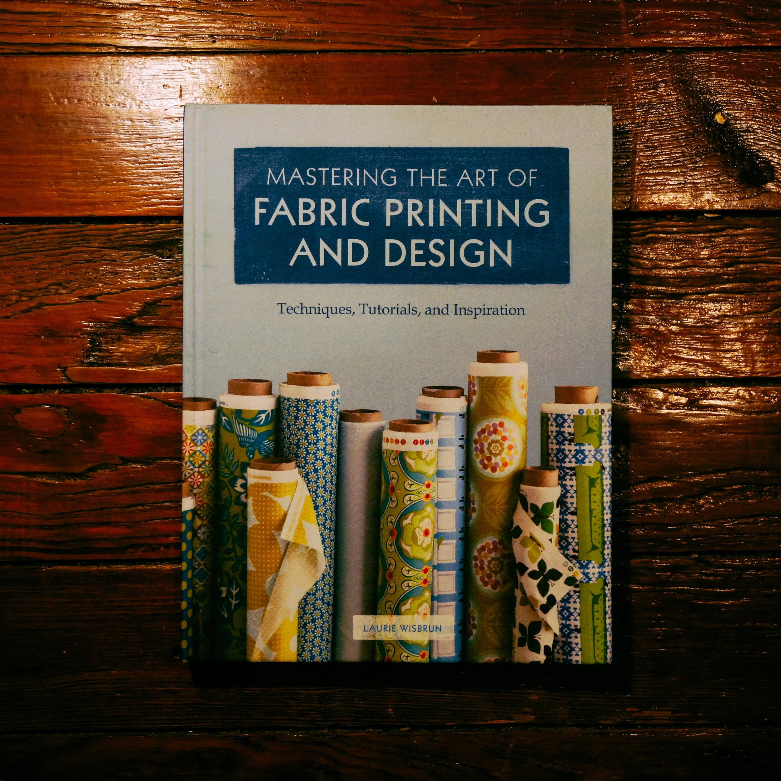 This authoritative guide outlines everything readers need to know to create gorgeous fabrics. There's nothing like it on the market! Collected within are step-by-step tutorials for designing patterns (both digitally and by hand), a comprehensive section on printing techniques—including digital printing, screen printing, stenciling, block printing, and resist dyeing—and even insider tips for developing a collection and bringing it to the marketplace. Beautifully illustrated with swatches of exquisite fabrics and hundreds of photos, and featuring interviews with established designers such as Skinny laMinx, Ink & Spindle, and Julia Rothman,  Mastering the Art of Fabric Printing and Design  is a key resource for anyone looking to learn the basics, expand their skill set, or find design inspiration.   Get it    Here
