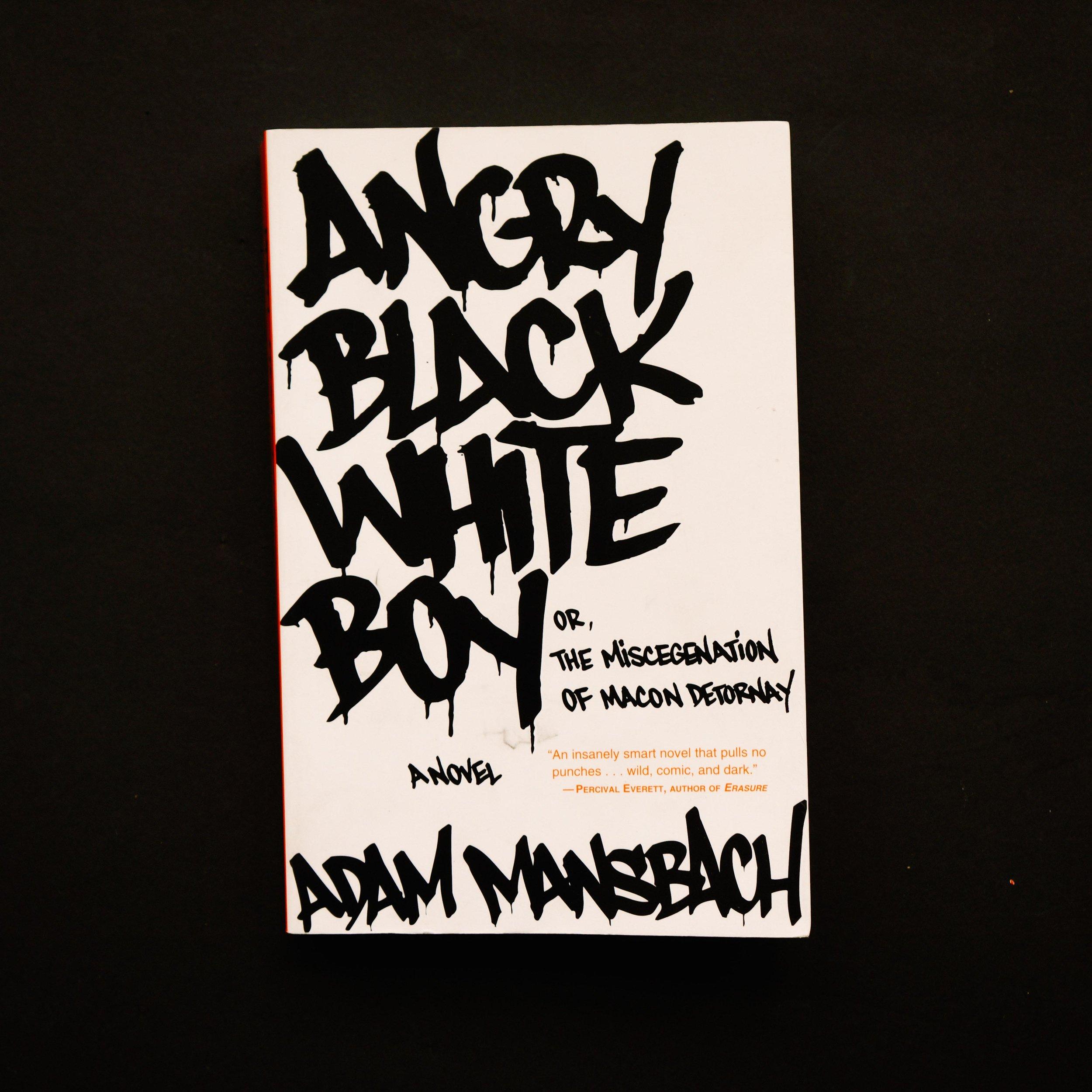 Angry Black White Boy